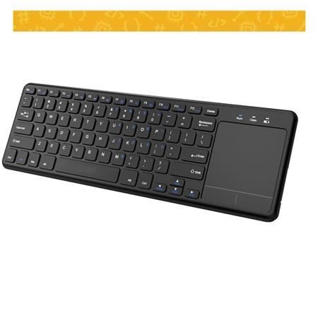 Mini Teclado Cuad  Wireless 2.4GHZ Touchpad